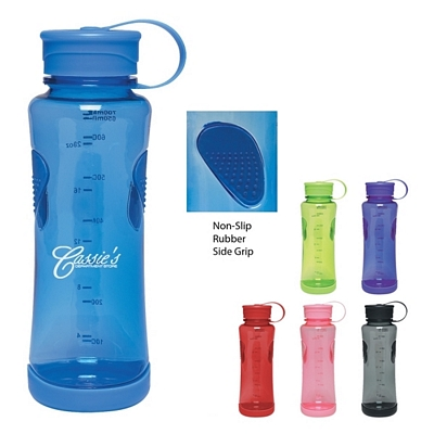 Promotional Sports Bottles: Customized 22 oz. Gripper Polycarbonate Bottle