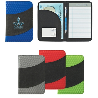 Promotional Junior Padfolios: Customized NonWoven 5 x 7 Bubble Padfolio