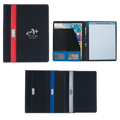 Promotional Padfolios: Customized Contemporary 8 1-2 x 11 Portfolio