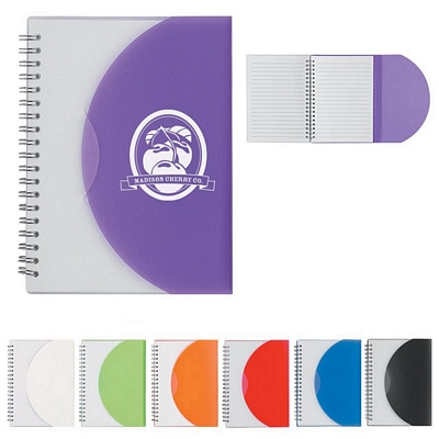 Promotional Notebooks: Customized 5 x 7 Spiral Notebook
