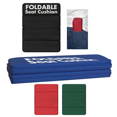 Promotional Standuim Cushions: Customized Foldable Stadium Seat Cushion