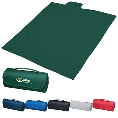 Promotional Blankets: Customized Sweatshirt Roll-up Blanket