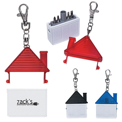 Promotional Tool Kits: Customized House Shape Tool Kit