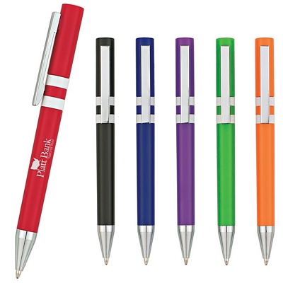 Promotional Plastic Pens: Customized The Polo Twist Pen