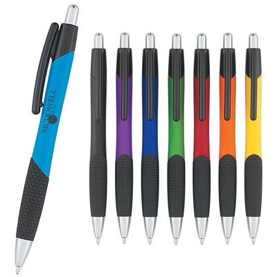 Promotional Plastic Pens: Customized Iris Retractable Pen