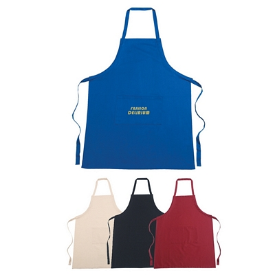 Promotional Aprons: Customized 100% Cotton Screen Printed Apron