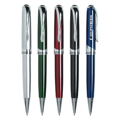 Promotional Metal Pens: Customized Executive Laser Engraved Twist Pen