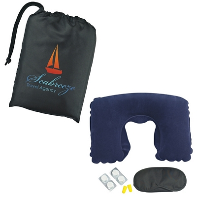 Promotional Head Pillows: Customized Travel Comfort Kit