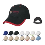 Promotional Caps: Customized Price Buster Cap With Visor Trim