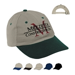 Promotional Caps: Customized Embroidered Brushed Cotton Twill Cap