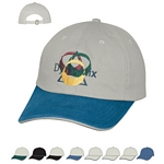 Promotional Caps: Customized Embroidered Cotton Chino Sandwich Cap