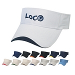 Promotional Visors: Customized Embroidered Wave Sandwich Visor