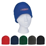Promotional Beanie Caps: Customized Double Layer Fleece Beanie Cap