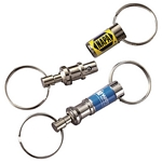 Promotional Key Chains: Customized Pull-a-Part Key Tag