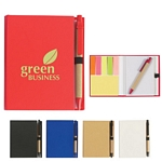 Promotional Notebooks: Customized Eco-Friendly Recycled Notebook With Pen