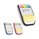 Promotional Memo Pad Holders: Customized Sticky Notes & Tape Flags Dispenser