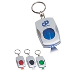Promotional Key Chains: Customized Color Light Key Chain