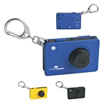 Promotional Key Chains: Customized Camera Key Chain With Light And Sound