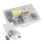 Promotional Office Kits: Customized 7 in 1 Stationery Kit with Paper Clips