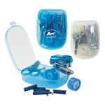 Promotional Office Kits: Customized Travel Stationery Kit with Scissors, Tape, Stapler