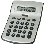 Promotional Calculators: Customized Large Desktop Solar Calculator