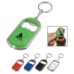 Promotional Key Chains: Customized Bottle Opener Key Chain With LED Light