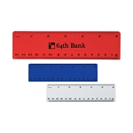 Promotional Rulers: Customized 6 Plastic Imprinted Ruler