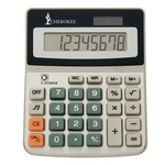 Promotional Calculators: Customized 8-Digit Display Solar Powered Calculator