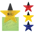 Promotional Bag Clips: Customized Star Shape Bag Memo Clip
