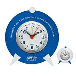 Promotional Clocks: Customized Retro Desktop Customized Clock