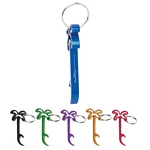 Promotional Bottle Openers: Customized Palm Tree Bottle Opener Key Ring