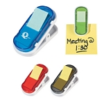 Promotional Memo Holders: Customized Clip With Sticky Flags