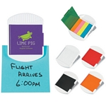Promotional Memo Holders: Customized Clip With Tape Flags