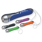 Promotional Flashlights: Customized High Tech Flashlight with Clear PVC Wrist Band