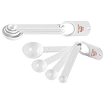 Promotional Measuring Spoons: Customized Set Of Four Measuring Spoons