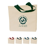 Promotional Tote Bags: Customized Natural Cotton Canvas Tote Bag