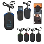 Promotional Phone Holders: Customized Neoprene Portable Electronic Neck Case