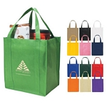 Promotional Grocery Shopping Bags: Customized Non-Woven Shopper Tote Bag