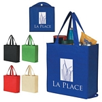 Promotional Grocery Shopping Bags: Customized NonWoven Foldable Shopping Tote Bag