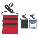 Promotional ID Holders: Customized Neck wallet-Badge Holder with Neck Cord