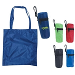 Promotional Tote Bags: Customized Clip Tote Bag Travel Pouch