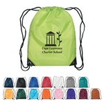 Promotional Drawstring Bags: Customized Small Fun Style Sports Drawstring Backpack