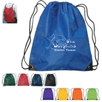 Promotional Drawstring Bags: Customized Large Fun Style Sports Drawstring Backpack