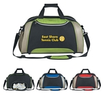 Promotional Duffel Bags: Customized Excel Duffel Bag Screen Printed
