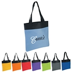 Promotional Tote Bags: Customized Shopper Two-Tone Tote Bag