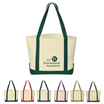 Promotional Tote Bags: Customized Heavy Cotton Canvas Boat Tote Bag