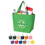 Promotional Shopping Tote Bags: Customized Non-Woven Budget Shopper Tote Bag