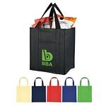Promotional Shopping Tote Bags: Customized Matte Laminated Non-Woven Shopper Tote Bag