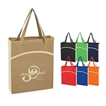 Promotional Tote Bags: Customized Non-woven Crescent Tote Bag