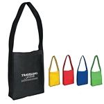 Promotional Messenger Bags: Customized Non-Woven Messenger Tote with Velcro Closure
